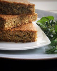 glutne free herbed flax focaccia recipe