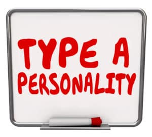 chronic fatigue syndrome personality type