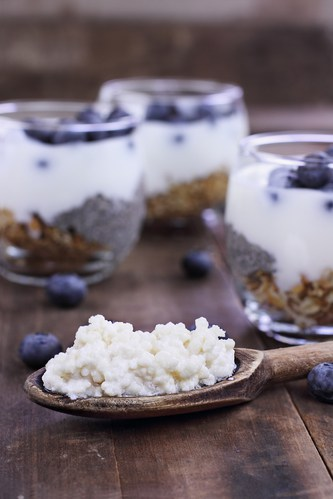 do probiotics do you any good kefir and blueberries