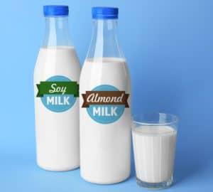 soy milk v almond milk