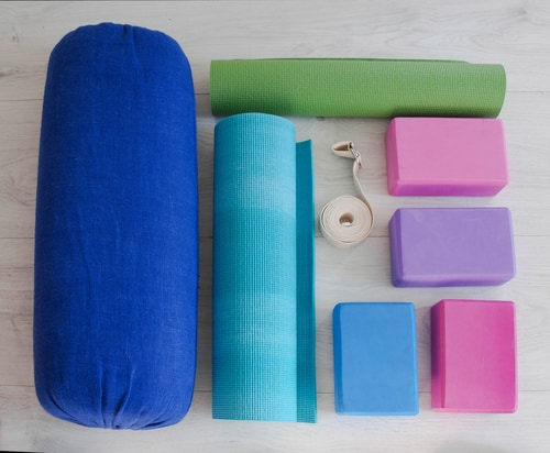 yoga and chronic fatigue props
