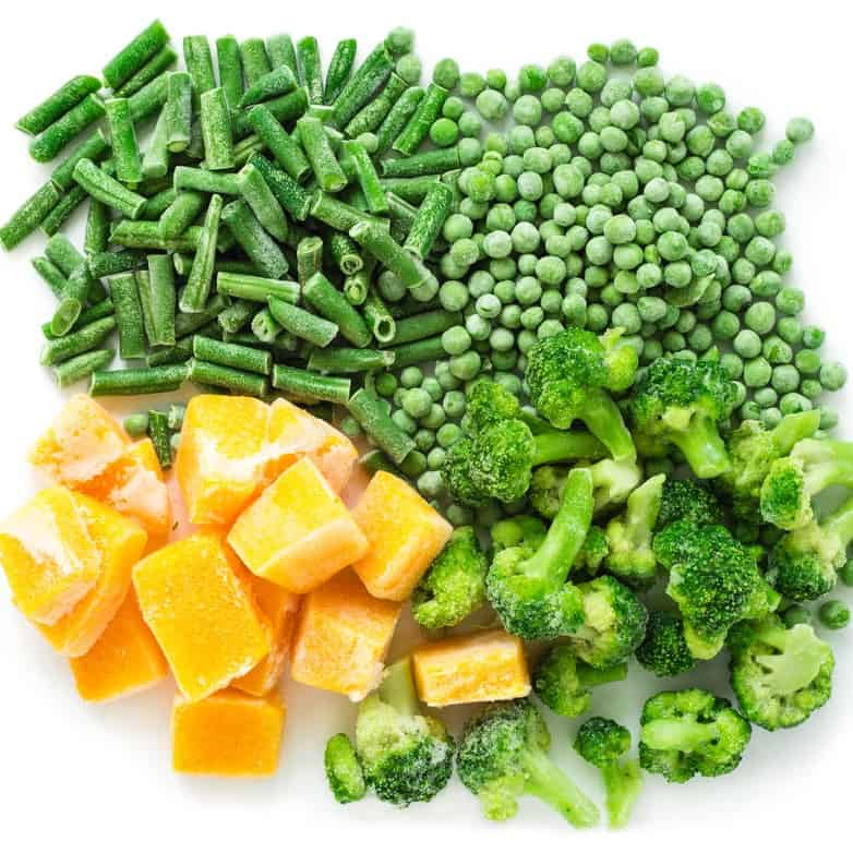 why are healthy foods expensive - frozen veg