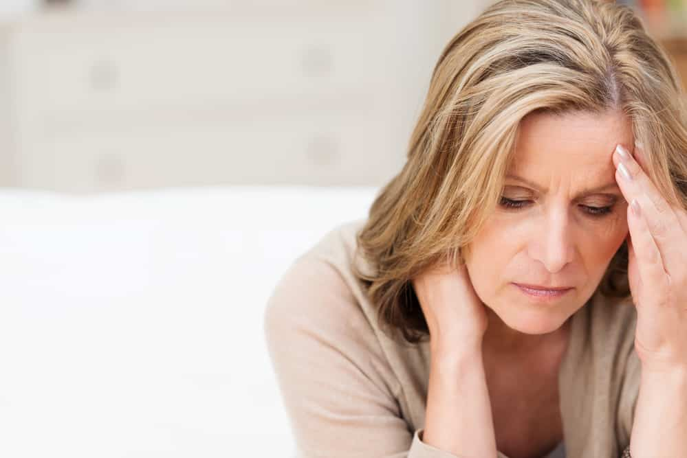 tired woman - perimenopause and fatigue