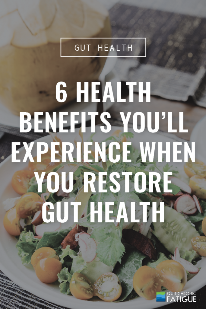 6 Health Benefits You'll Experience When You Restore Gut Health | Quit Chronic Fatigue